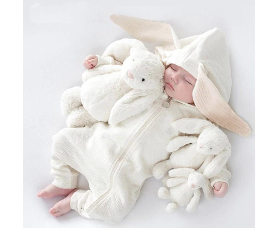Baby's Rabbit Romper