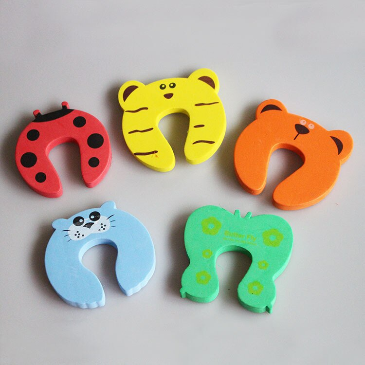 Baby Safety Cute Animal Shaped Door Stopper